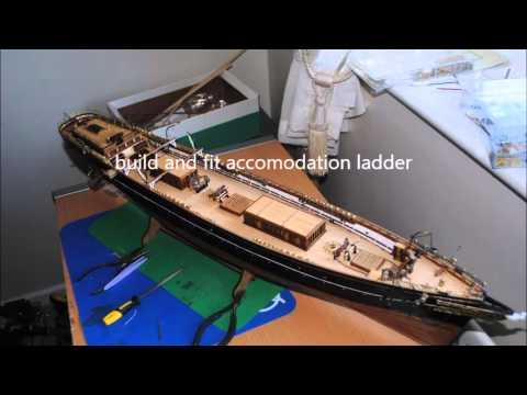 Jeff's Cutty Sark model build