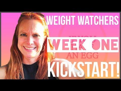 weight-watchers-week-one-kickstart!