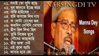 Best of Manna Dey Bangla songs