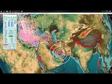2/15/2019 -- Major seismic movement underway -- Rare Earthquake in UK @ fracking ops