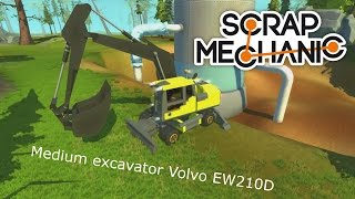 Scrap Mechanic Medium excavator Volvo EW210D