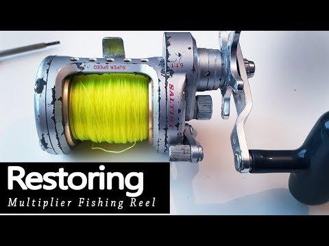 Restoring & Servicing Multiplier Fishing Reel