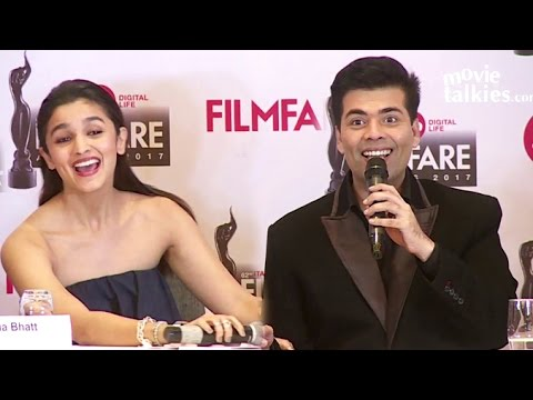 Karan Johar & Alia Bhatt's FUNNY Jokes During An Interview Will Make You Laugh