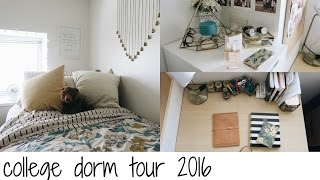 college dorm tour 2016