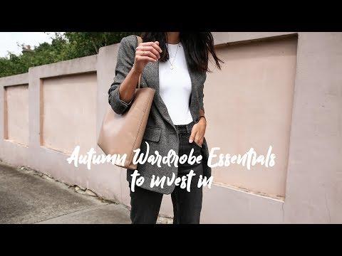 Autumn Wardrobe Essentials to Invest in - WARDROBE BASICS 101 | Mademoiselle Mp3
