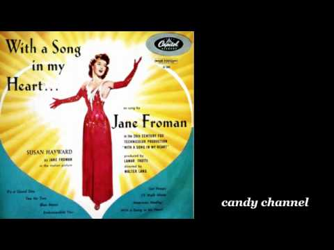 Jane Froman - Wityh A Song In My Heart   (Full Album)