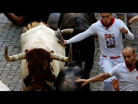 Inician Las Fiestas De San Fermín En Pamplona, España|CCTV Español
