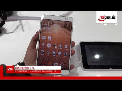 MWC 2014: Huawei MediaPad X1 7.0