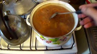 Суп из дикой утки ....