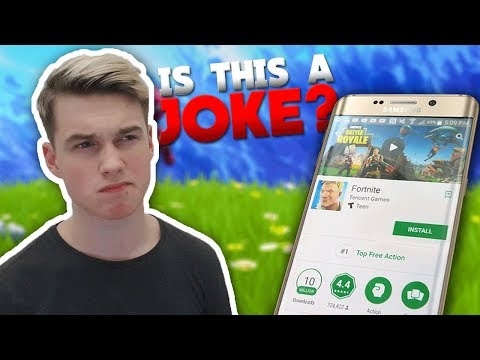 BAD NEWS on Fortnite Mobile for Android!
