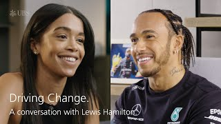 Driving change. A conversation with Lewis Hamilton.