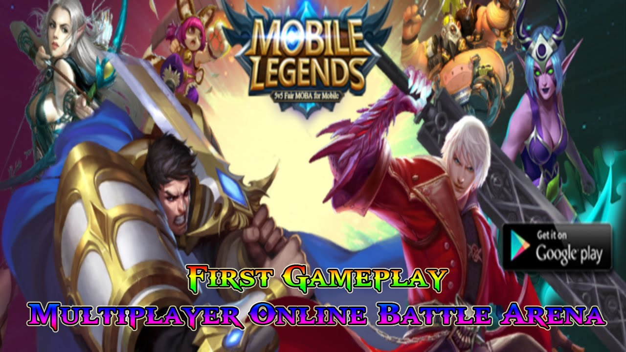 Mobile Legends: 5v5 MOBA Watcha Playin'? First Gameplay Multiplayer Online  Battle Arena