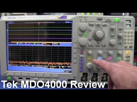 Tektronix Mixed Domain Oscilloscope MDO4000 Review - EEVblog #199