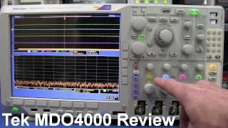 Repeat youtube video Tektronix Mixed Domain Oscilloscope MDO4000 Review - EEVblog #199