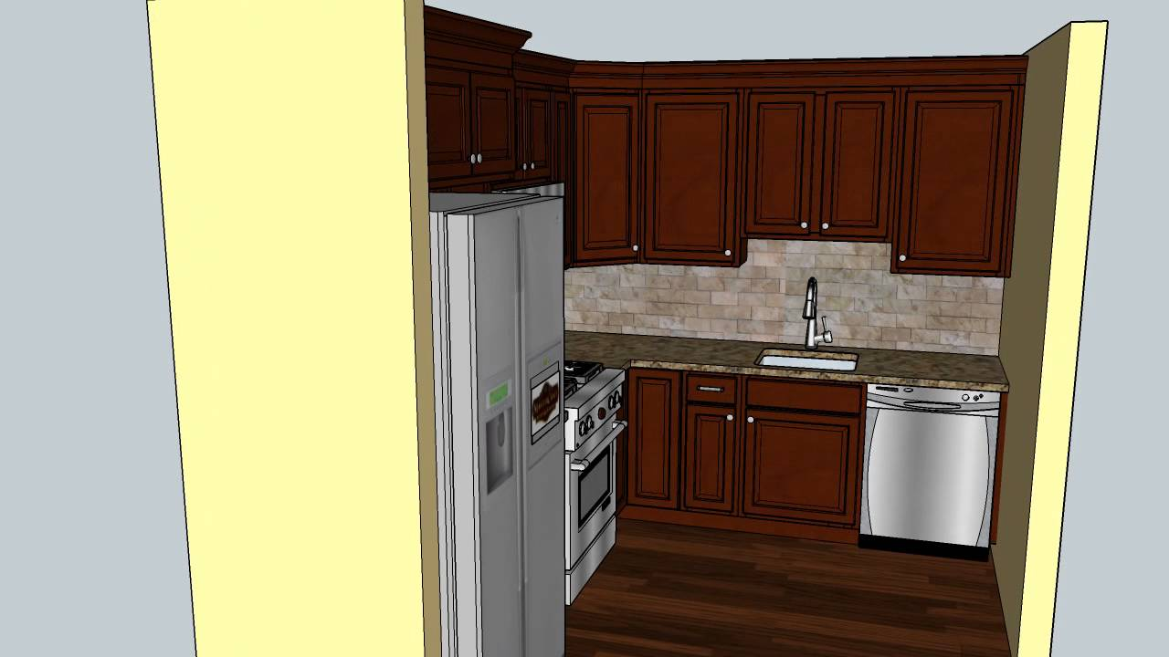 Levy Kitchen Remodeling CAD Design   MasterCraft Kitchen U0026 Bath