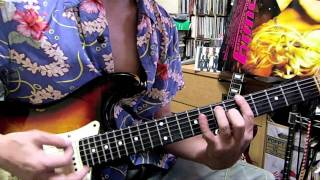 Blondie: Sunday Girl / Tribute Guitar Cover.