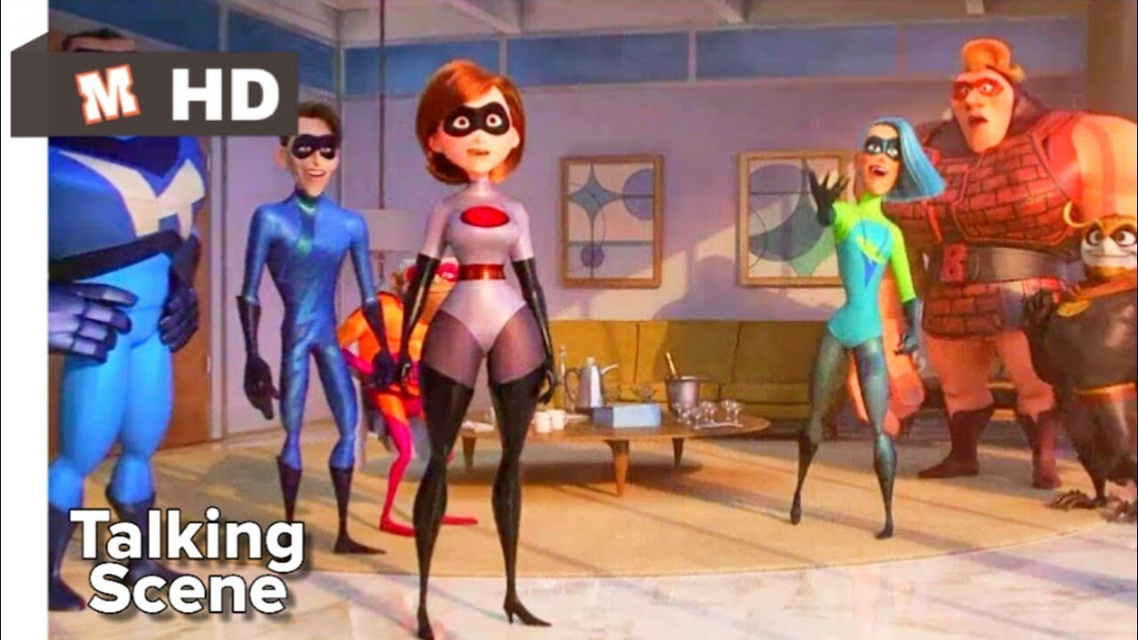Download Incredibles 2 Hindi Talking Scene