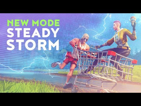 NEW MODE: STEADY STORM - THIS LTM IS JUST TOO EASY! (Fortnite Battle Royale)