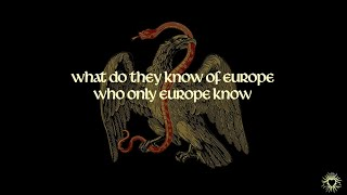 ROME - Who Only Europe Know [Lyrics]