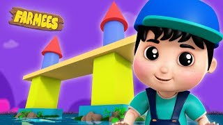 London Bridge Is Falling Down Nursery Rhymes Songs For Kids Baby Song Farmees S02E240