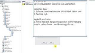 How To Make Windows XP USB Flash