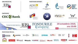 """Videoconferinţa BURSA """"FONDURILE EUROPENE"""" - ediţia a XII-a -"""