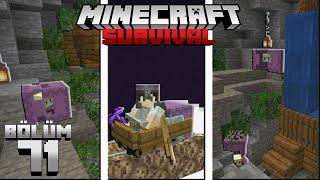 END'DEN DÜNYA'YA SHULKER GETİRMEK ! HARİKA MAĞARA !!┇Minecraft Survival ▹Bölüm 71