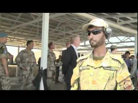 Kabul Military Training Center VIP tour 2011