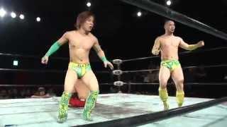 2014年3月30日名古屋ダイアモンドホール BJW認定タッグ選手権試合〈第38...