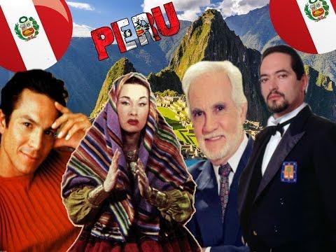 Peruanos famosos en el mundo entero Famous Peruvians