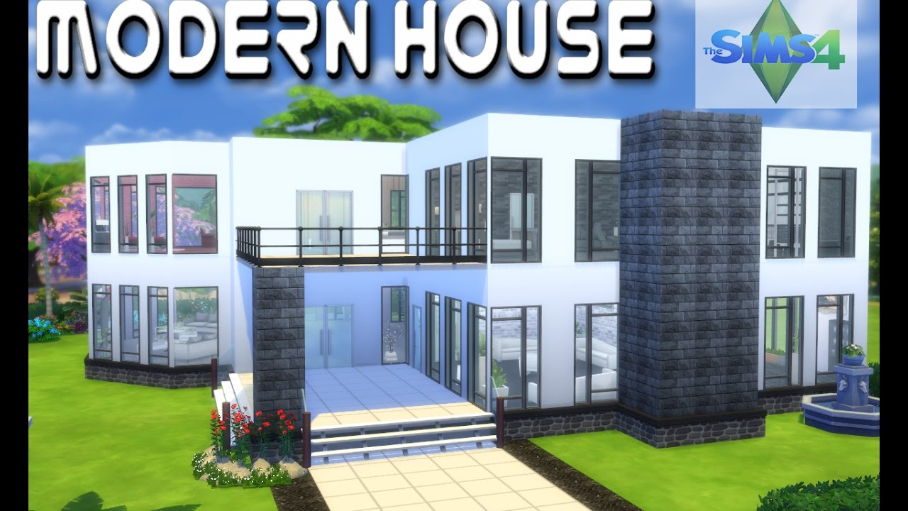 The Sims 4 House Building Modern Luxury Interior And Exterior Build