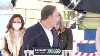 El Gobierno andaluz dedica más de un millón de euros al puerto de La Bajadilla