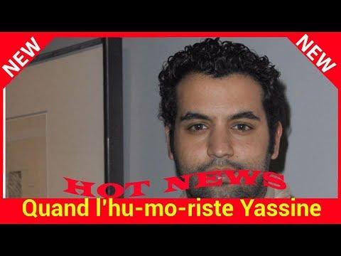 Quand l'humoriste Yassine Belattar dévoile des sms d'Emmanuel Macron