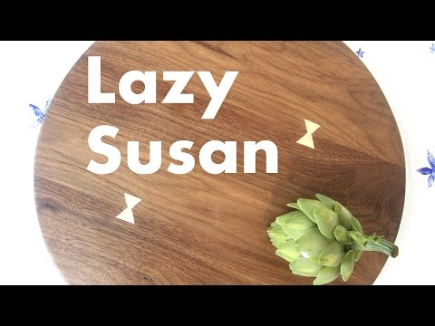 Having Lunch on a Lazy Susan