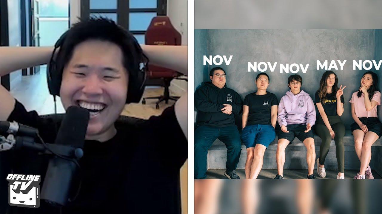 OfflineTV's Quadruple November Birthdays
