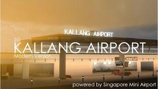 Roblox Kallang Aeroporto (temporário) no meu amigo jogo