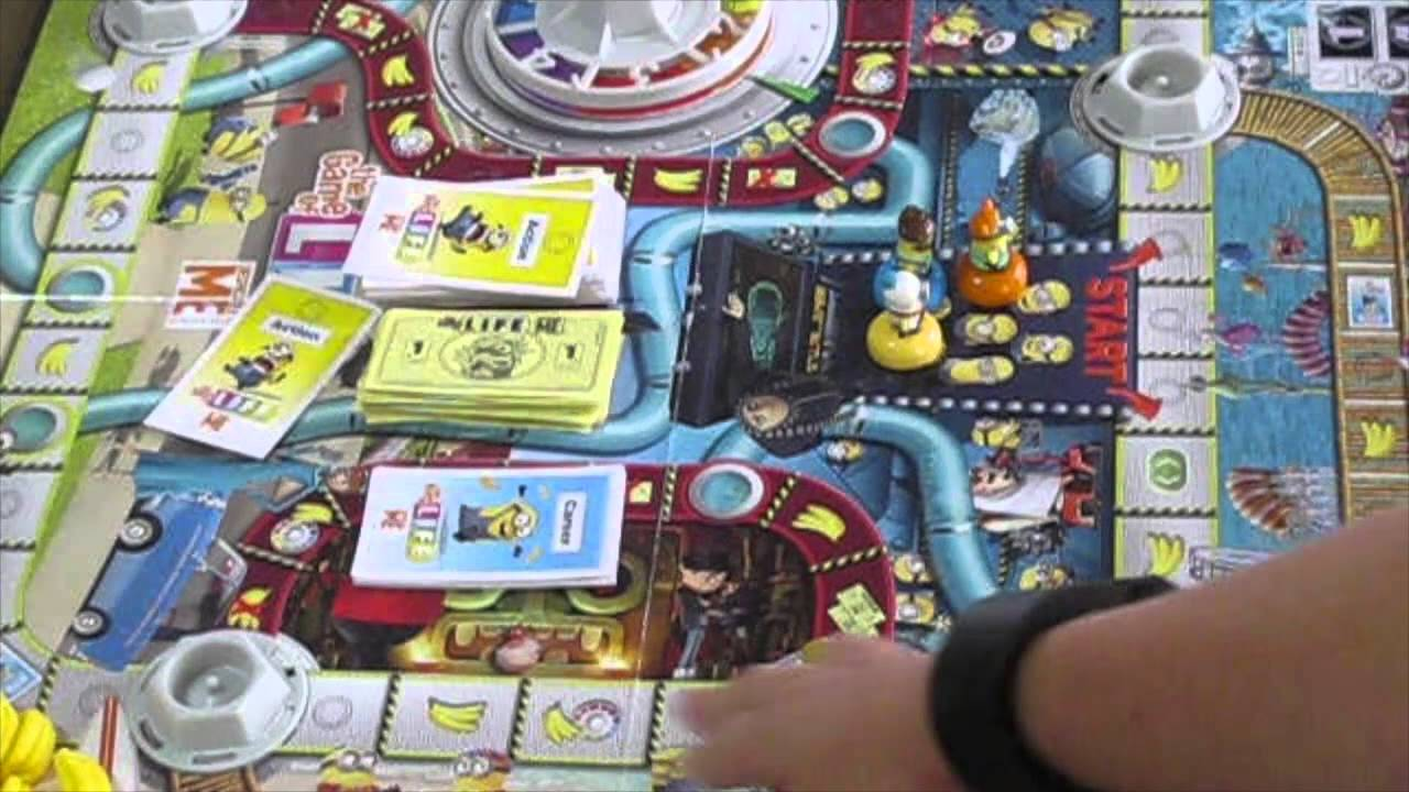 How To Play Minion Game Of Life - YouTube