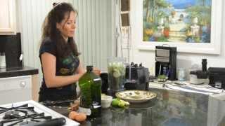 jugo verde para limpiar el hgado desintoxicar el cuerpo perder peso y combatir el insomnio