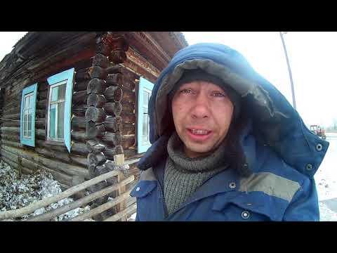 домик в деревне 47.......печка из бочки