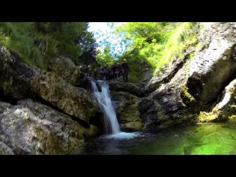 Aquactive canyoning Slovenia