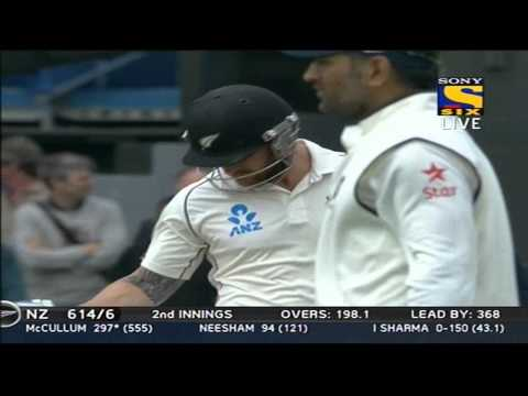 New Zealand 2nd Innings | Boundries | India vs New Zealand | Day 5 | 2nd Test | 2014