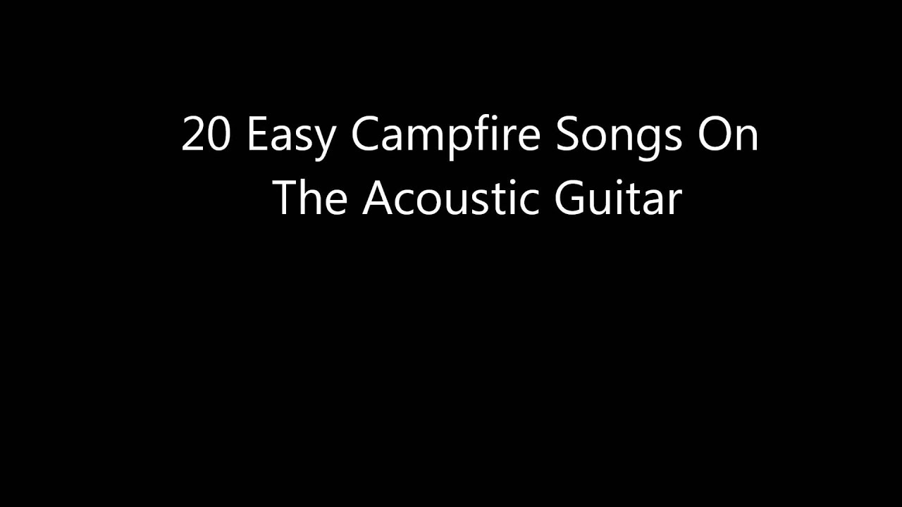 easy songs to play on guitar pdf