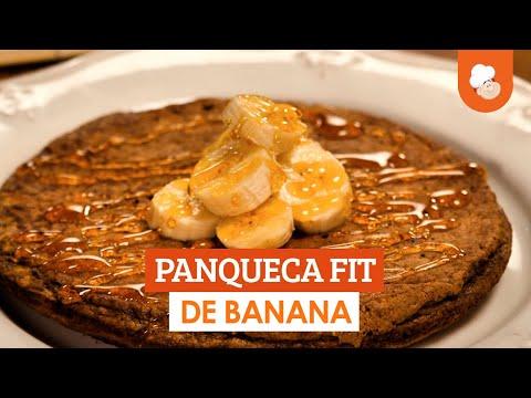Panqueca fit de banana — Receitas TudoGostoso
