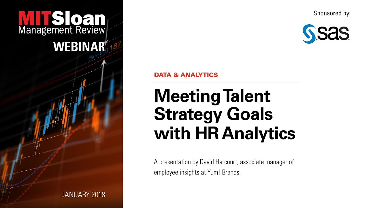 Meeting Talent Strategy Goals with HR Analytics