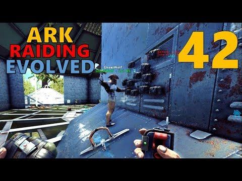 [42] THE C4 RAID'S EXPLOSIVE FINISH (ARK Raiding Evolved)