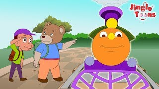 Chuk Chuk Rail Gadi | जुक जुक रेल गाड़ी | Hindi Rhymes for Children from JingleToons