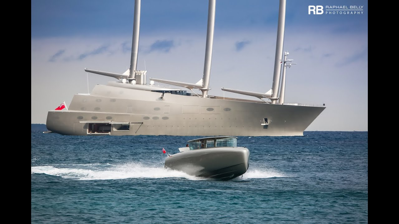Andrey Melnichenko See His Crazy Us 500 000 000 Sailing Yacht A