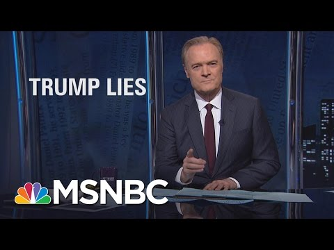 Thumbnail: Lawrence On President Donald Trump's Lies, Big And Small | The Last Word | MSNBC
