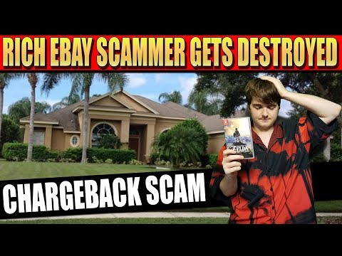 Rich eBay Scammer Gets Destroyed - Paypal Chargeback Scam