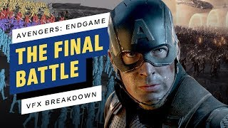 How Endgame Assembled Every Avenger For That Final Battle (VFX Breakdown)